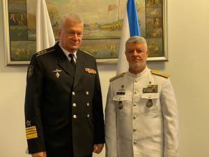 تاکید فرماندهان نیروی دریایی ارتش ایران و روسیه درباره همگرایی بیشتر بین دو کشور