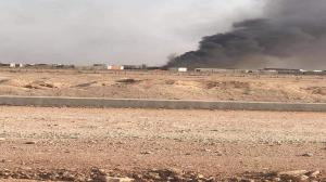 حمله پهپادی به پایگاه الحشد الشعبی در نجف اشرف