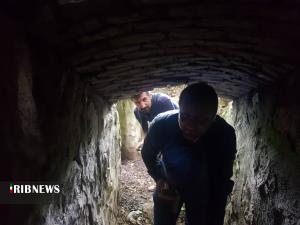 عکس/ کشف تونل اعجاب انگیز باستانی در رشت