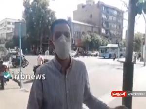گزارشی از اوضاع خیابانهای اطراف پاساژ علاءالدین