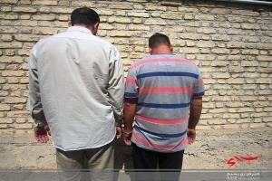 دستگیری یک سارق و یک مالخر احشام در زاهدان