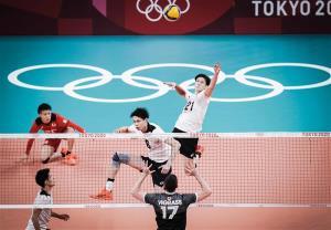 والیبال ژاپن جای ایران در صدر جدول را گرفت