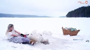 تا حالا فکر کردهاید در قطب شمال چطور لباس میشویند؟