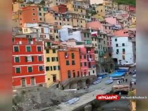 معماری پله کانی روستایی در ایتالیا