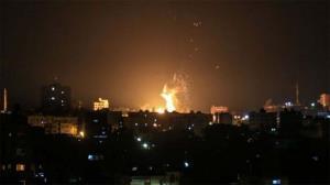 نوار غزه زیر آتش جنگندههای صهیونیستی
