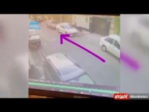 کیف قاپی زیر یک ثانیه در مرکز تهران