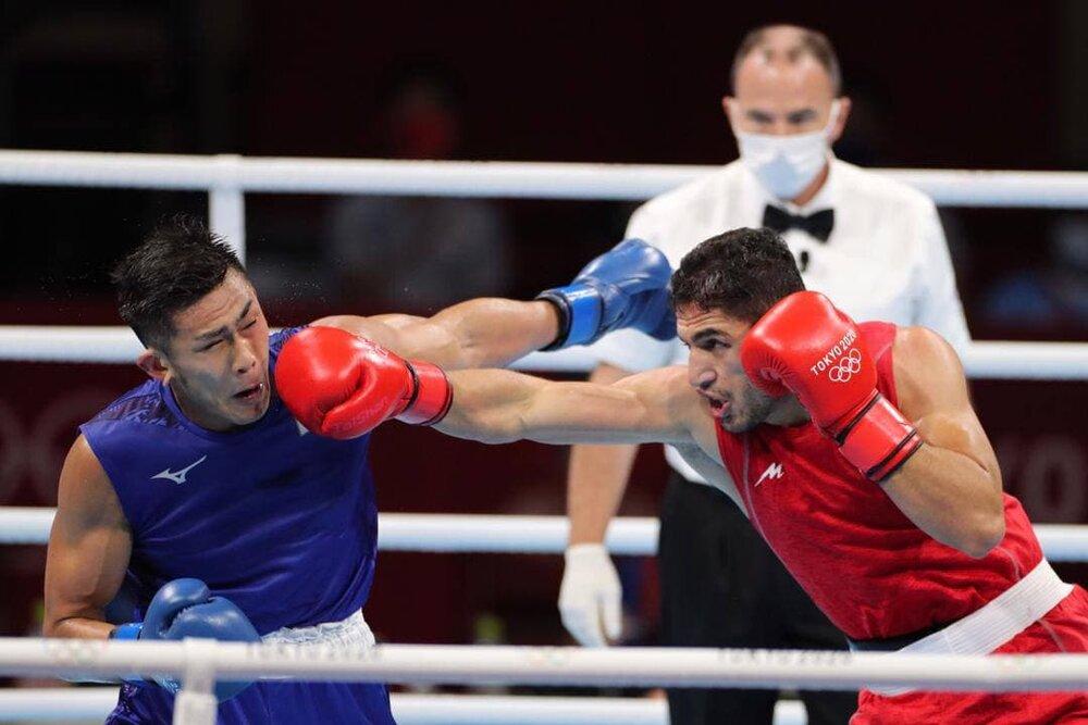 عکس/ مشتهای بوکسور المپیکی ایران که از چشمان داوران دور ماند