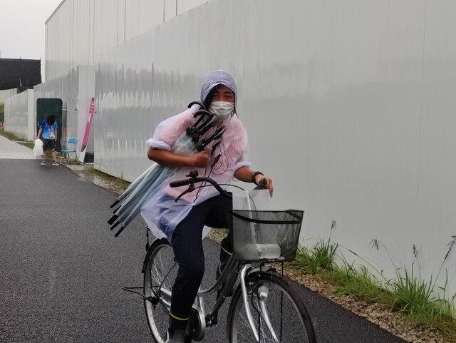 دردسر بارش شدید باران در دهکده المپیک توکیو