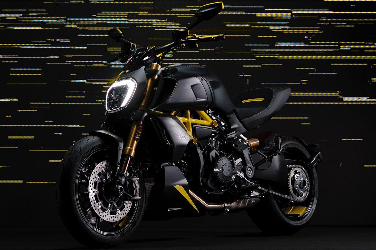 موتورسيکلت جذاب و شاهکار دوکاتي