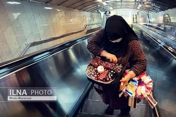 دستفروشان مترو: يک «شهر» ما را نميبيند