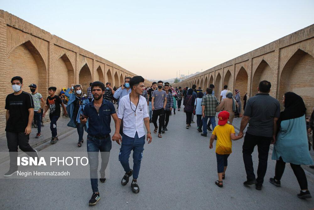 عکس/ اصفهان در آغوش پیک پنجم کرونا