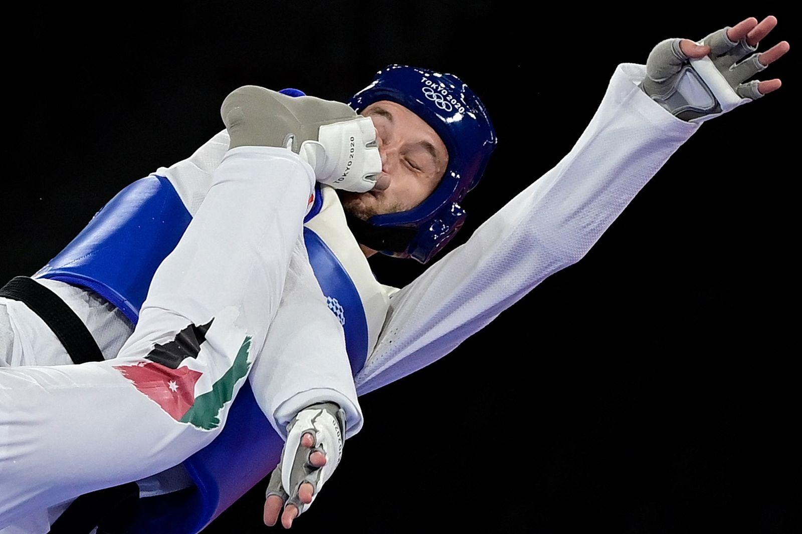ضربه کاری به صورت تکواندوکار نروژی در مسابقات المپیک