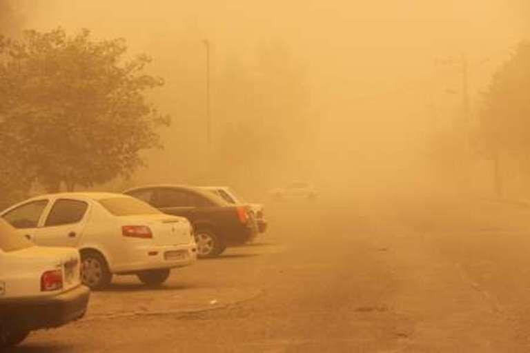 هواي مناطق مرزي استان کرمانشاه غبارآلود ميشود