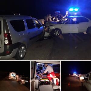 تصادف سمند و آمبولانس در سمنان ۷ مصدوم برجای گذاشت