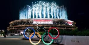 المپیک توکیو/ هوای پایتخت ژاپن بارانی شد
