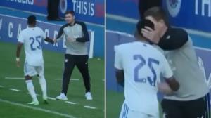 لحظهای که بازیکن رئال مادرید فهمید مربی حریف یک اسطوره است!
