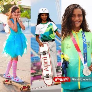 از ترند شدن در 7 سالگی تا کسب نقره المپیک در 13 سالگی!