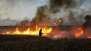 آتشسوزی در شهرک صهیونیستنشین با بالن های آتشزا