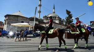 محبوبیت پلیس اسب سوار در ترکیه