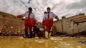 امدادرسانی هلال احمر به ۹ هزار سیلزده در ۱۶ استان