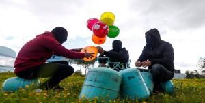پیام ازسرگیری ارسال بالنهای آتشزا به سمت فلسطین اشغالی