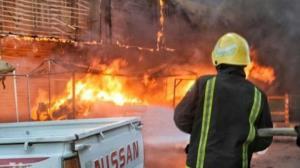 سریال آتش سوزیهای عراق به پایتخت رسید