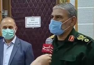 فرمانده سپاه خوزستان: تنشهای آبی منطقه را به حداقل خواهیم رساند