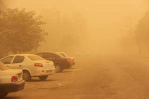هوای مناطق مرزی استان کرمانشاه غبارآلود میشود