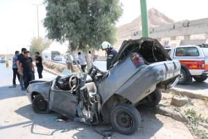 ١٢ درصد از تصادفات به دلیل تغییر مسیر ناگهانی است