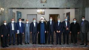 روحانی: دولت به عهد خود برای تصمیمگیری براساس خرد جمعی پایبند بود