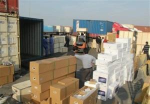 کشف بیش از ۵۰۰ میلیون کالای قاچاق توسط مرزبانان تایباد
