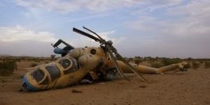 اظهارات ضدونقیض درباره سقوط بالگرد ارتش افغانستان