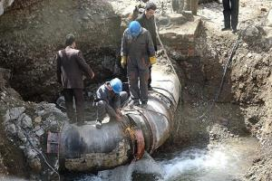 کاهش ۲۵ درصدی ظرفیت تامین آب چند شهر و روستای اصفهان