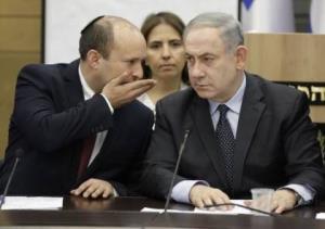 نتانیاهو، بنت را به باد انتقاد گرفت