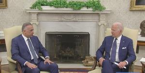 بیانیه پایانی دیدار بایدن و الکاظمی؛ اتمام مأموریت رزمی آمریکا در عراق تا پایان ۲۰۲۱