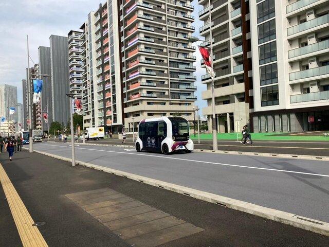 عکس/ گشتی در ممنوعترین مکان المپیک توکیو