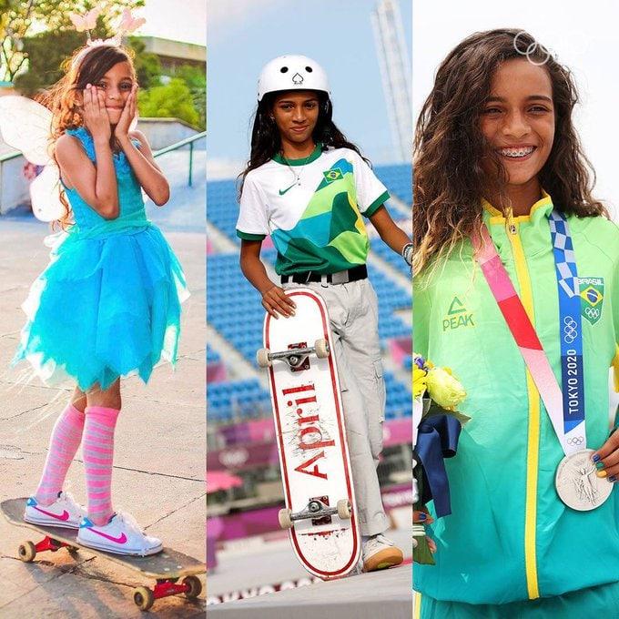 عکس/ نوجوان اسکیت بردباز برزیلی پدیده المپیک توکیو