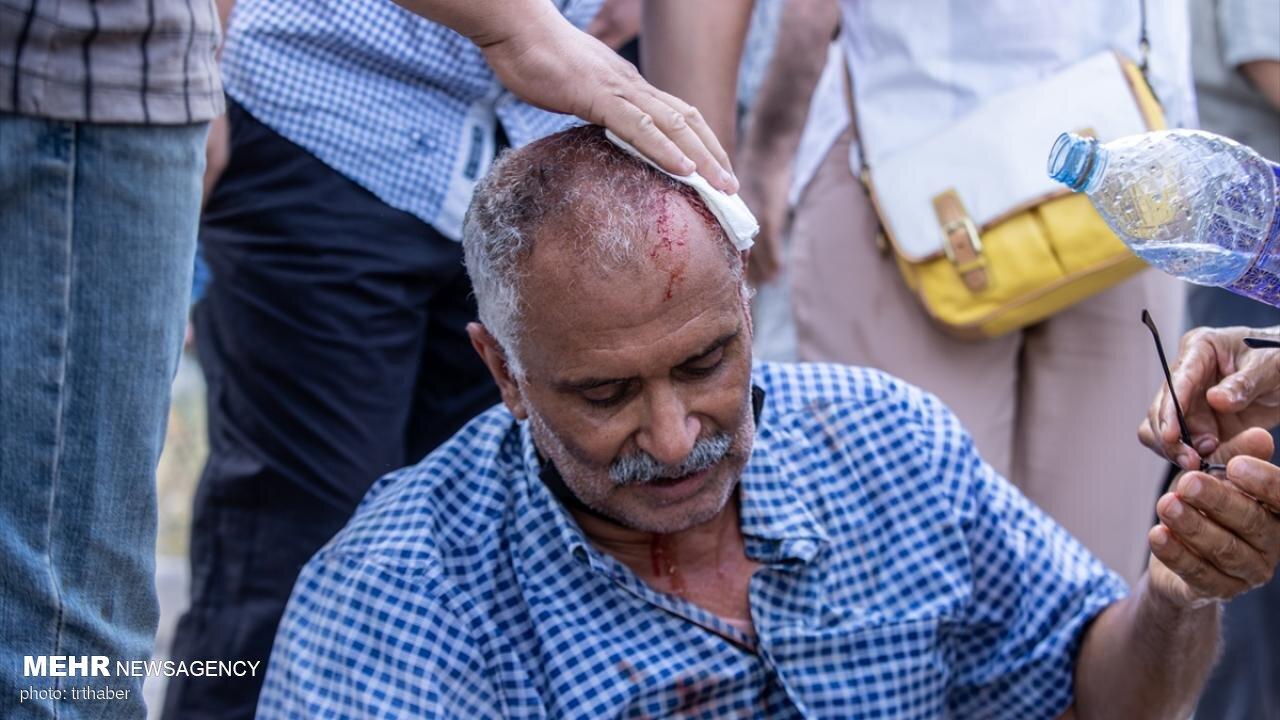 یورش نیروهای امنیتی تونس به تجمع مخالفان