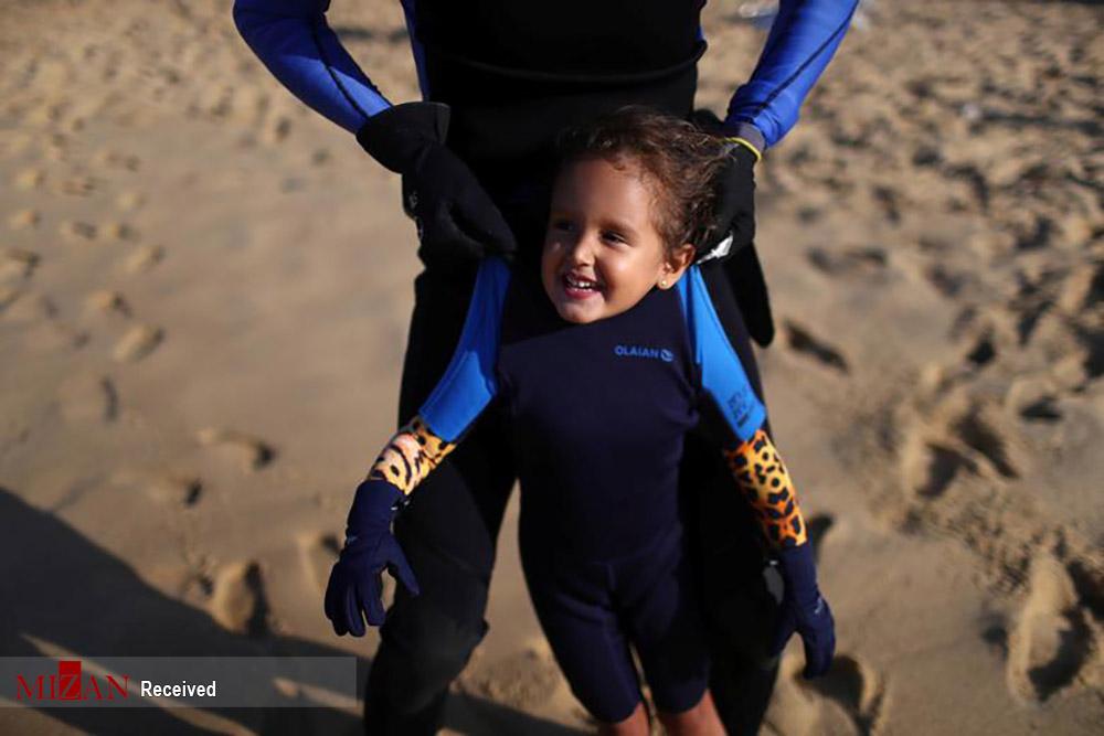پاکسازی اقیانوس توسط کودک 4 ساله!