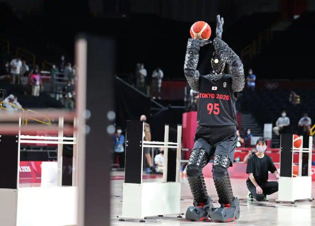 رونمايي از ربات بسکتباليست در المپيک توکيو