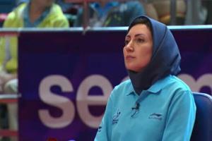 آبیترین نشان افتخار در توکیو برای داور ایرانی