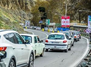 خروج ۵۰۰ هزار نفر در تعطیلات با خودرو از تهران و البرز