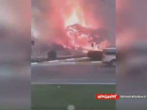 ویدئویی از آتش سوزی مهیب در جنگل های شهر آنتالیای ترکیه