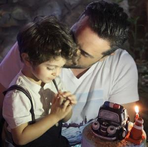 چهره ها/ جشن تولد پسر مجری تلویزیون