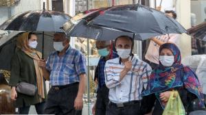 آغاز بارشهای تابستانی و جاری شدن سیلاب در مازندران
