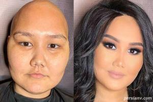 عوارض جسمانی آرایش کردن صورت