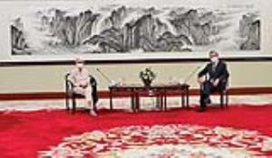 رازگشایی از سفر وندی شرمن به چین