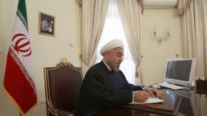 حکم جدید روحانی یک هفته به پایان ریاست جمهوری