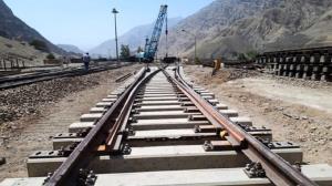 اتمام عملیات ریل گذاری بستان آباد - تبریز و خاش - زاهدان