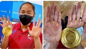 رنج زن فیلیپینی برای تاریخسازی در المپیک توکیو